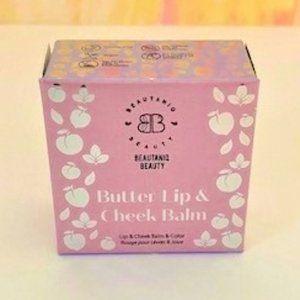 Beautaniq Beauty Butter Lip & Cheek Balm - NIB